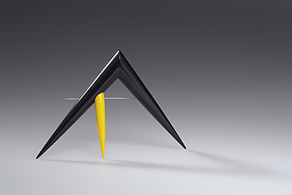 brooch by Pavel Herynek :  brooches pointy geometric modern